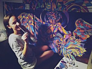 Introducing Susarenko Maria, a painter and fashion designer
