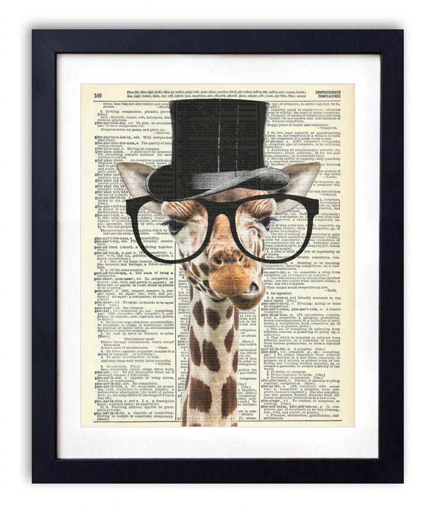 Gentleman Giraffe, check it out on amazon amzn.to/29jMW4x