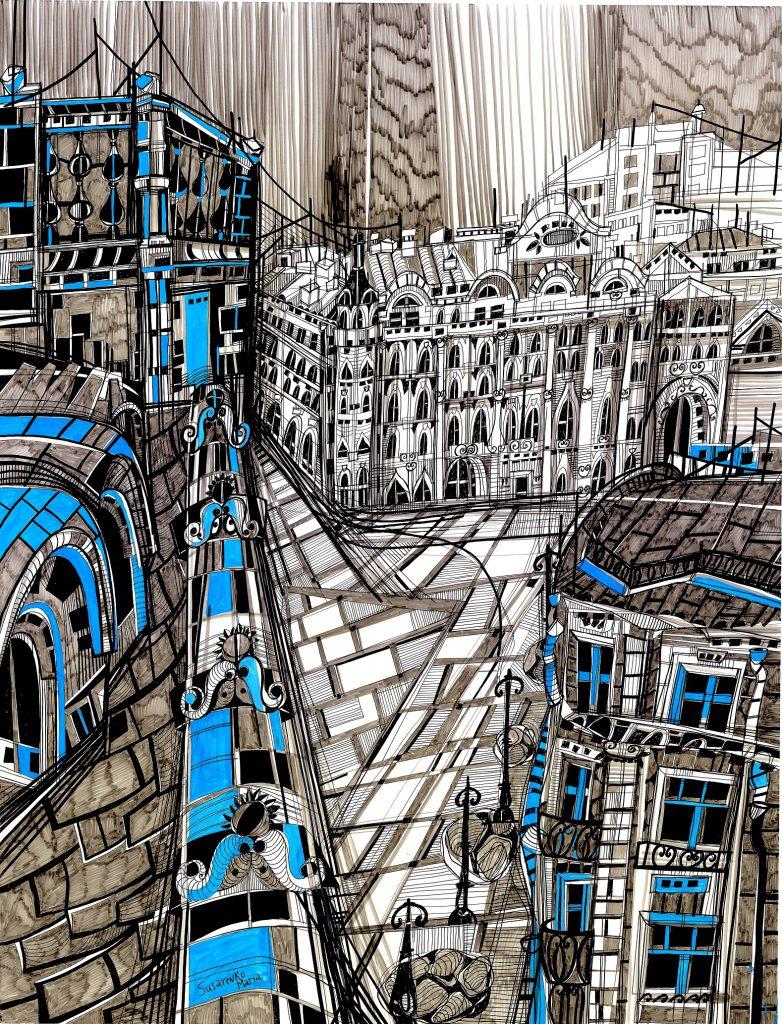From Window by Susarenko Maria
